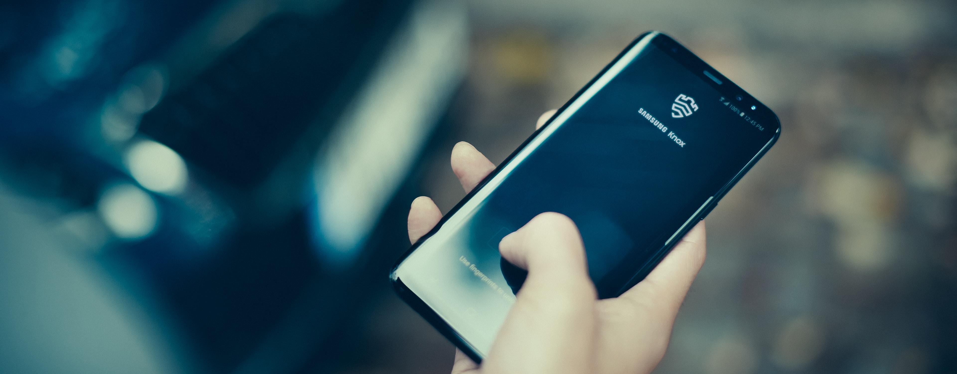 Knox Platform for Enterprise | Advanced mobile security